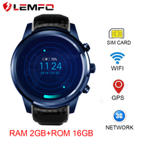 LEMFO LEM5 Pro Smart Watch Bluetooth 4 0 Smart Watch Android Sim Card Smart Watch GPS
