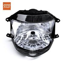 For 97-07 Honda CBR1100XX CBR 1100 XX Motorcycle Front Headlight Head Light Lamp Headlamp 1997 1998 1999-2007 plastic fairings cbr1100xx 1998 body kits cbr1100xx 2003 1996 2005 black fairing kits cbr 1100 xx 1997