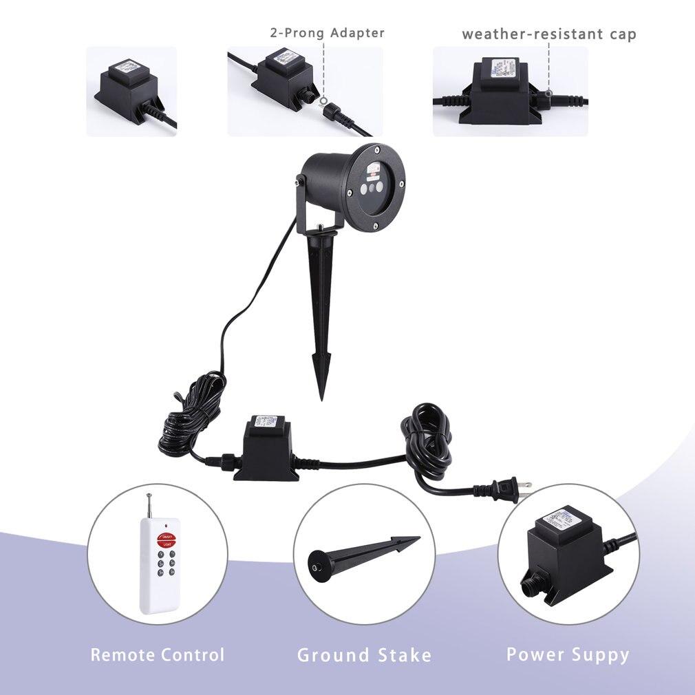 Uniek Ontwerp Aluminium IP67 Outdoor Waterdichte Mini Laserlicht 3 Kleuren LED Lamp DJ Thuis Didco Partijen Licht Decoratie - 4