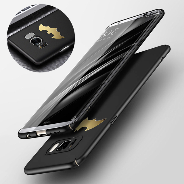 check out ea8ec 61196 US $3.99 20% OFF|Luxury Phone Case For Samsung Galaxy S8 S9 Plus S7 Edge  Note 8 9 Coque Protective PC Back Cover Case For Samsung A8 A7 2018 A750-in  ...