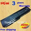 New bateria do portátil para asus n53s n53j n53jq n61v n61w n43 a32-a32-n61 m50 preto, frete grátis