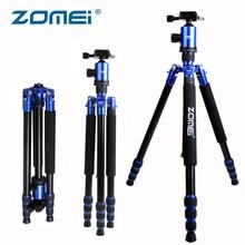 Zomei Z888 Compact Travel Tripod Professional Aluminium Monopod 360 degree Ball Head for Canon Sony Nikon Samsung DSR Cameras