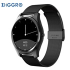 DI03 Smart Watch IP67 Heart Rate Monitor Bluetooth 3.0/4.0 Call/SMS Reminder Pedometer Smart Wrist Watch for IOS Android
