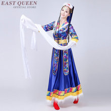 Wholesale Tibetan dress Chinese folk dance costumes clothing dress stag