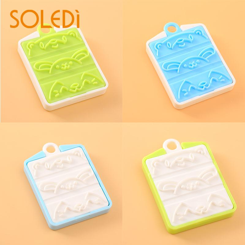 1 Pcs Sausage Cutter Mold Picks Lunch Bento Party DIY Decorate Cute Shape Lovely Cute Kitchen Tool Color Random