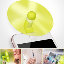 Mini Portabel Keren Micro USB Fan 5 V 1 W Diuji Ponsel Usb Penggemar untuk iPhone 5 6 7 8 Plus X XS XR Cool Dock Fan 8 Pin(China)
