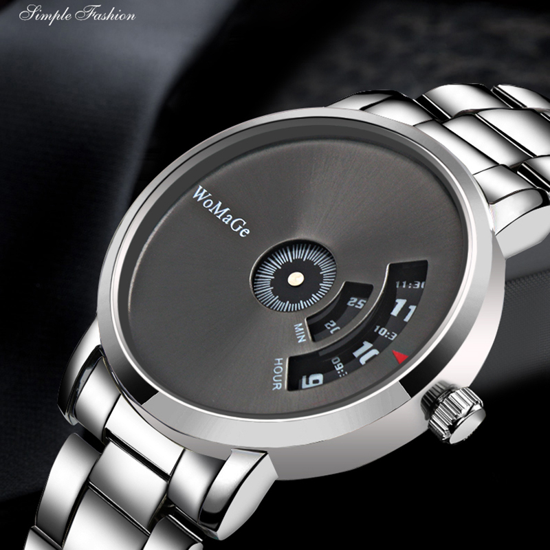 Montre Homme 2019 New Hot Sell Brand WoMaGe Wrist Watch Luxury Unique Style Men Quartz Watches Fashion Designer Male Watch