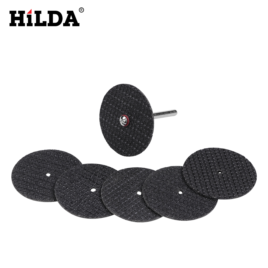 Image 5 - HILDA Diamond Cutting Disc Resin Cutting Sheet Circular Saw Blade Woodworking for Dremel Mini Drill Rotary Tool Accessories-in Abrasive Tools from Tools