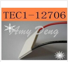 Free shiping TEC1-12706 semiconductor refrigeration chip electronic refrigerator drinking fountains dedicated CPU cooling