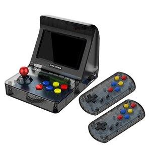 Image 4 - רטרו ארקייד כף יד קונסולת משחקי 4.3 אינץ 3000 קלאסי משחק נגן 2 PCS ג ויסטיק טלוויזיה פלט נייד