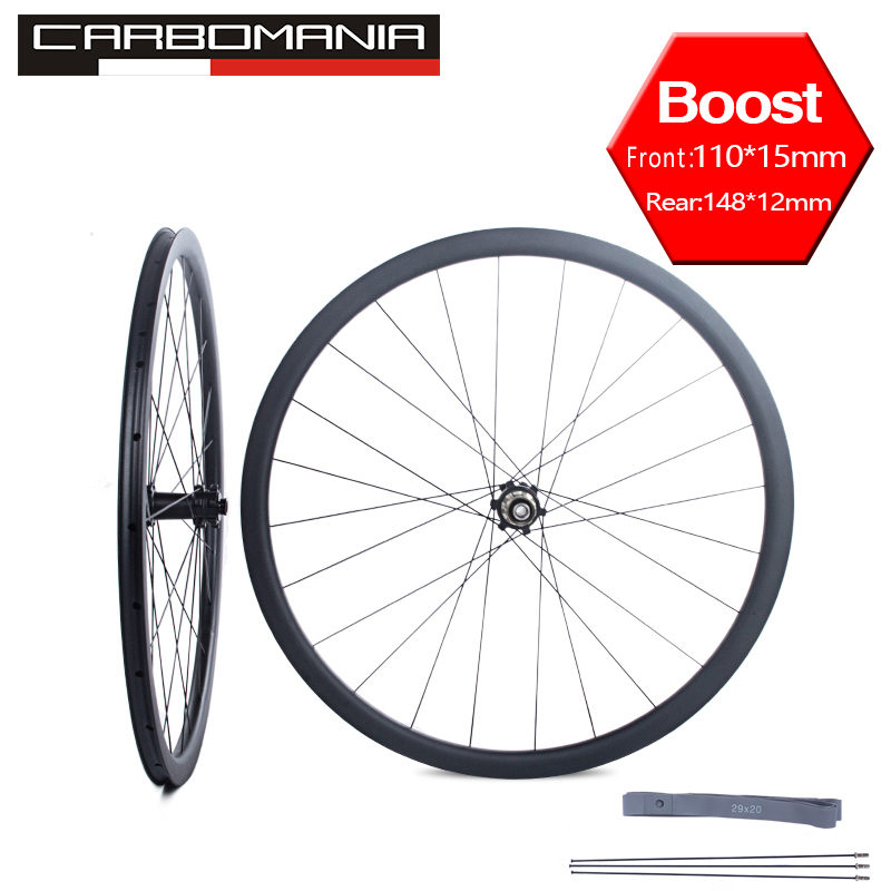 Free Shipping 29er Boost wheelset 110x15mm Thru Axle MTB bike wheel Mountain bicycle 148x12mm Disc Brake Aluminum wheel 29inchFree Shipping 29er Boost wheelset 110x15mm Thru Axle MTB bike wheel Mountain bicycle 148x12mm Disc Brake Aluminum wheel 29inch