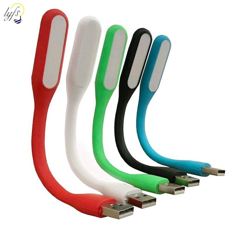 Mini Lustre Abajur Mobile Power USB LED Lamp Camping Flashlight Computer Portable Night Gadget Lighting For PC Laptop