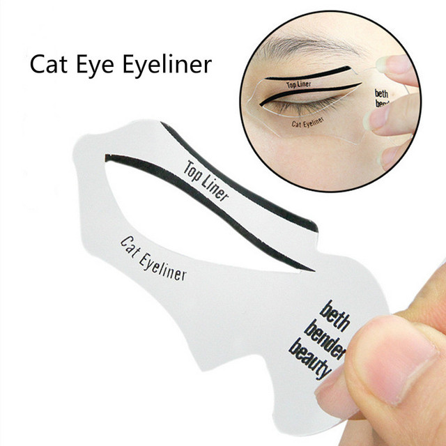 Eyeliner Template Card Stencil (10 Pcs)