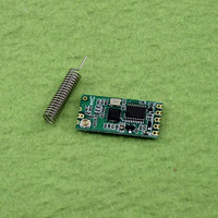 HC-11 433MHz wireless RF serial UART module CC1101 5V 3V AT command