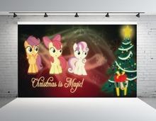 SHENGYONGBAO Vinyl Custom Photography Backdrops Props My Little Pony theme Photo Studio Background ML-04