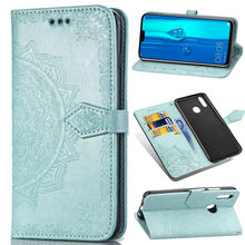 все цены на PU Leather Flip Case For Huawei Y9 Y7 Y6 Prime Pro Y6 Y5 Y3 2019 2018 Y6 Pro Y3 2017 Case Mobile Phone Wallet Bag Coque Cover онлайн