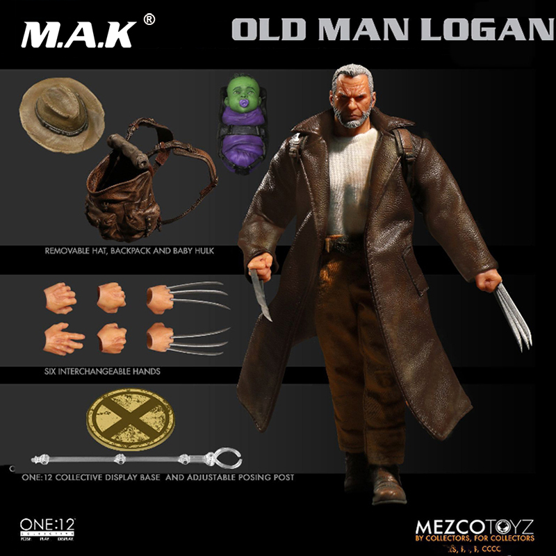 Full set doll The Man Comes Around 1/6 Scale old Wolverine Logan Old Man Logan doll Action Figures doll toy Colletible with box