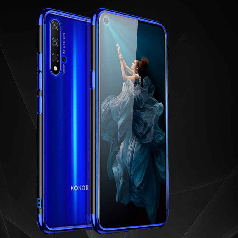 Caso Honra honra 20 20 lite Caso Luxo Silicone Macio Caso Em Huawei Honra 20 Pro Lite Honor20 YAL-L21 YAL-L41 capa TPU