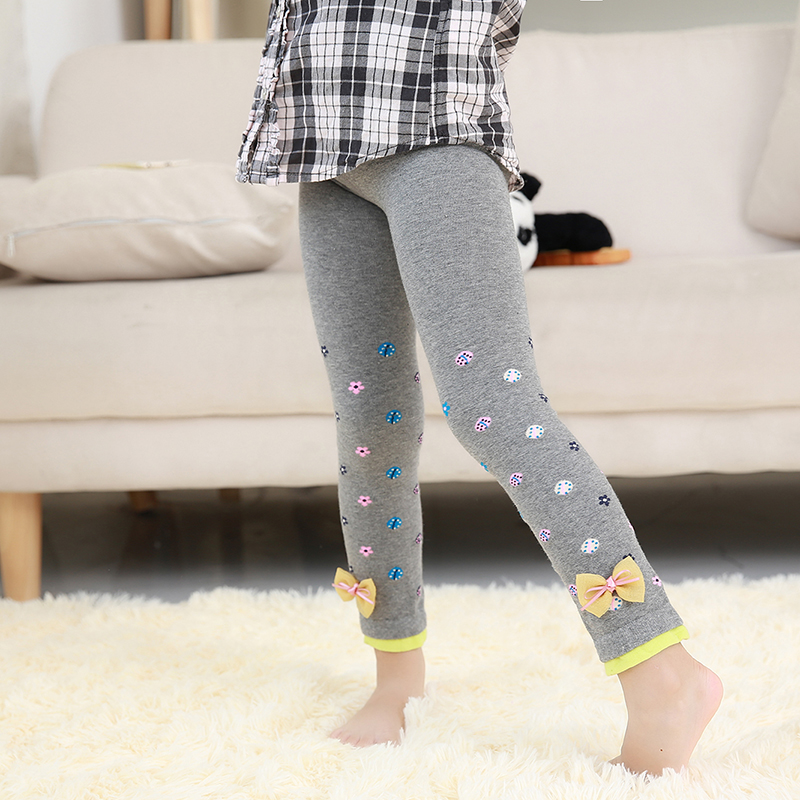 BOOPH Rabbit Ears Leggings Pants for Girls Baby Toddler Knitted Footless Tights