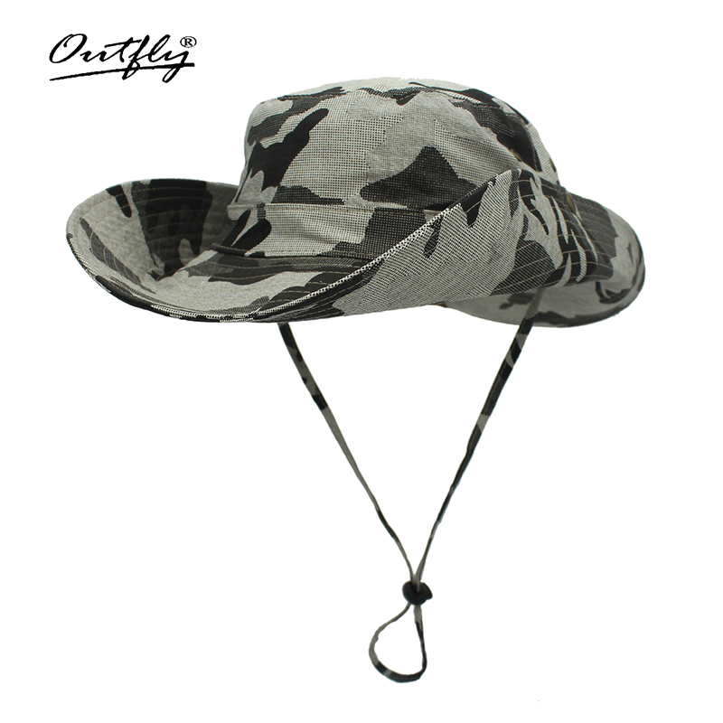 Elegant Fisherman's hat Foldable wide brim Floppy Summer hats for women Outdoor UV Protection wide brim bucket hat cowboy hat