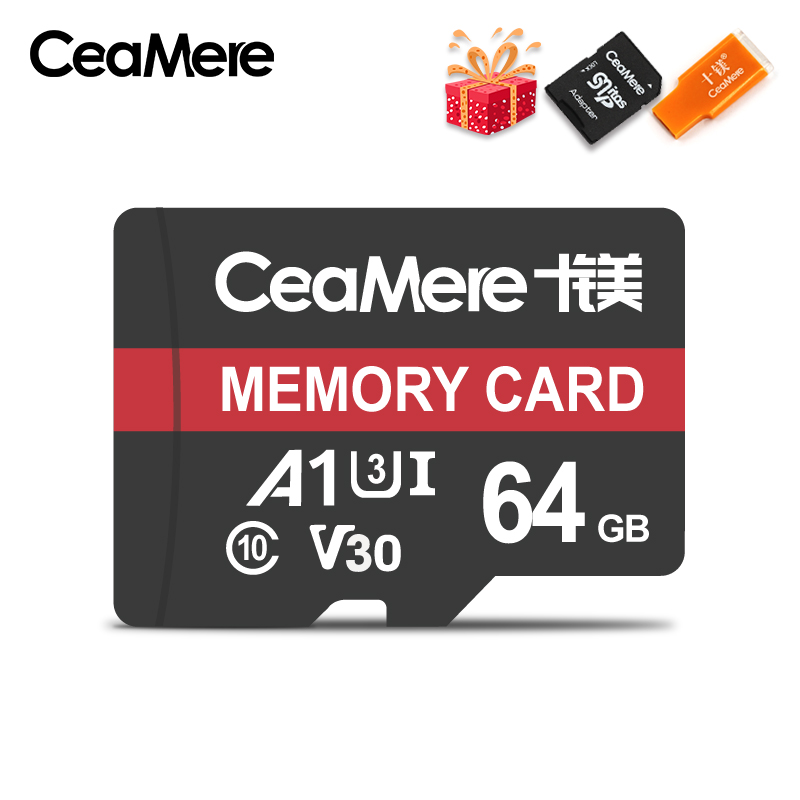 Image 2 - CeaMere Micro SD Card Class10 UHS 1 8GB Class 6 16GB/32GB U1 64GB/128GB/256GB U3 Memory Card Flash Memory Microsd for Smartphone-in Memory Cards from Computer & Office