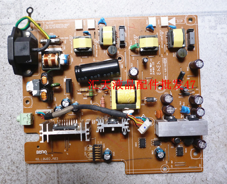 Free Shipping>Original   48.L0W02.A03 high-voltage power supply board one board.-Original 100% Tested Working 48 l9002 a14 fp737s power board q7t3 power board high voltage power supply integrated plate