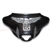 Motorcycle Fairing Decals USA Logo Sticker Eagle Decal For Harley Electra Glide Street Glide Ultra Classic