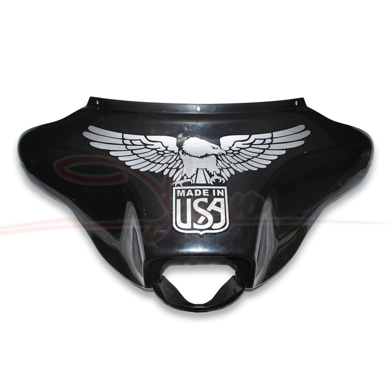 Motorcycle Fairing Decals USA Logo Sticker Eagle Decal For Harley Electra Glide Street Glide Ultra Classic and Trike models цена и фото
