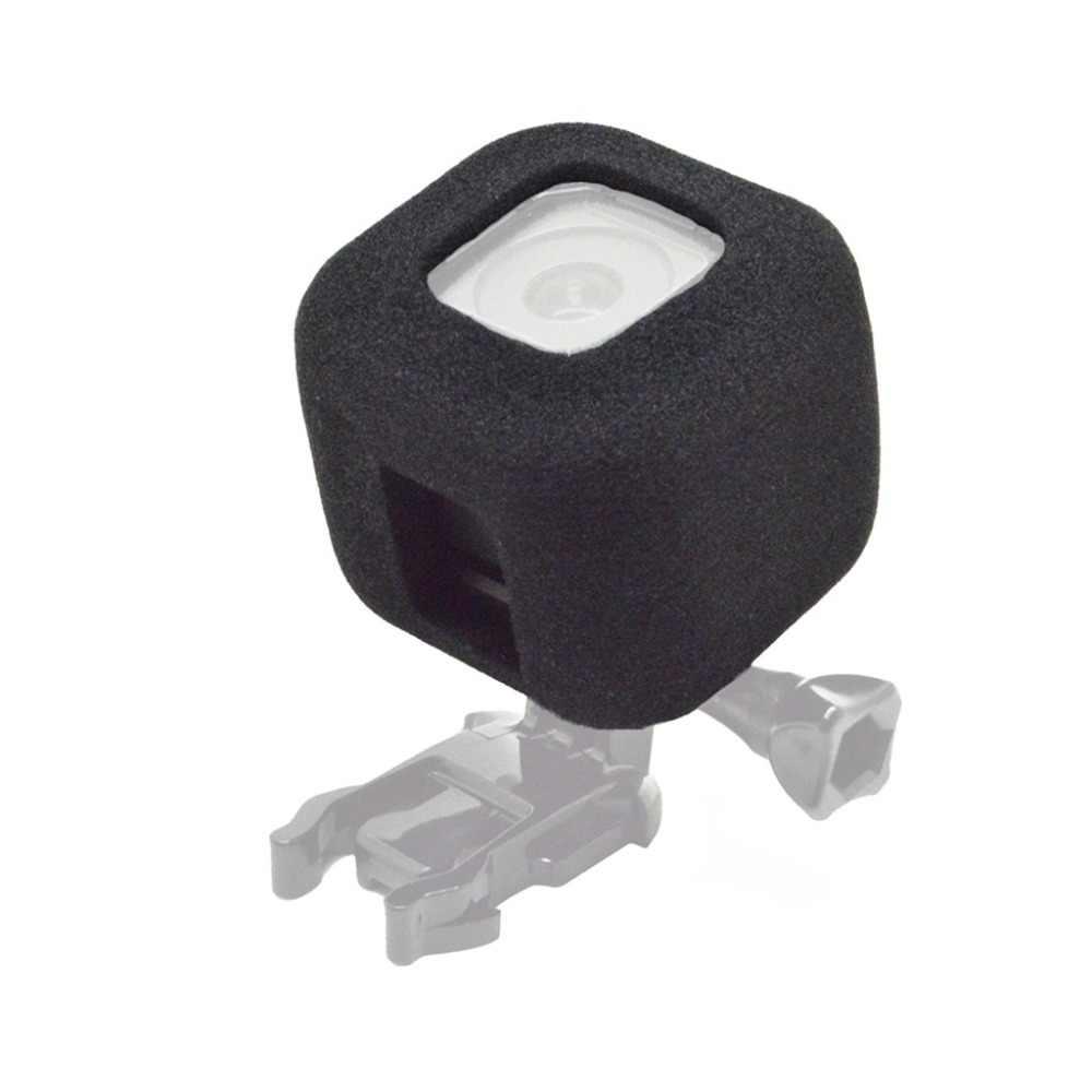 Лобовое стекло Ветер шумоподавление губка пена чехол Крышка для корпуса для GoPro Hero 4/5 Session аксессуары для спортивной экшн-камеры F3552
