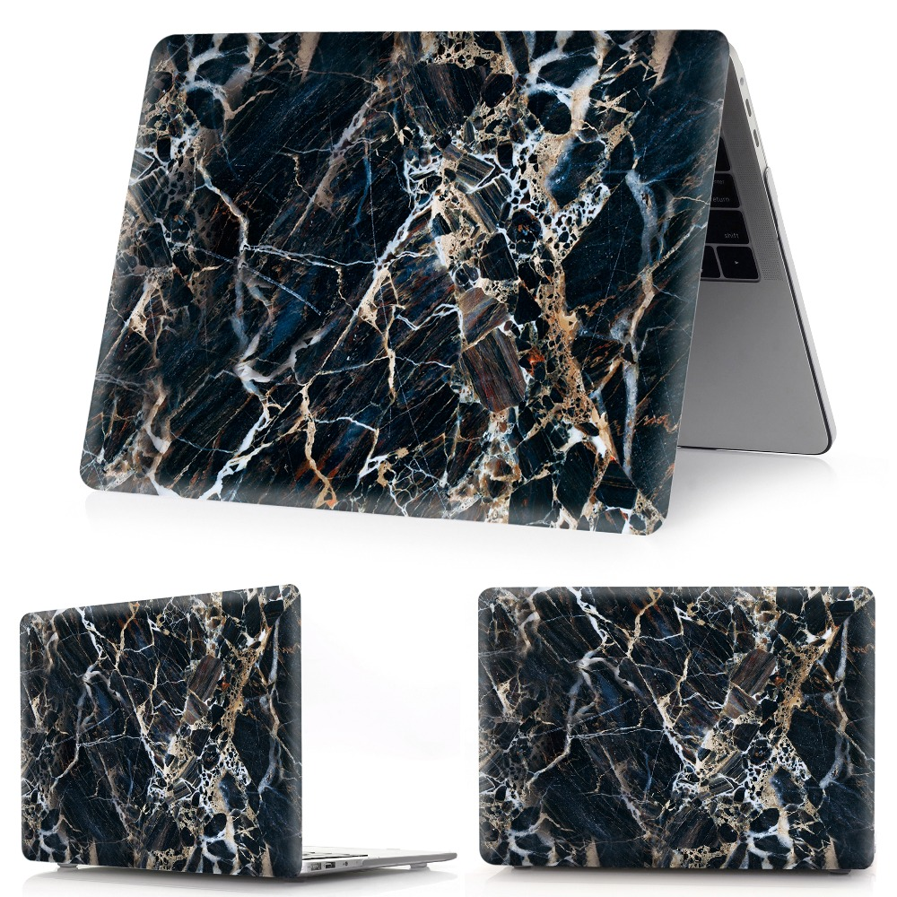 Image 4 - marble Laptop Case For Apple MacBook Air  11,13 Pro Retina 12 13 15 Touch Bar for macbook New Pro 13.3 15.4 New Air 13.3-in Laptop Bags & Cases from Computer & Office