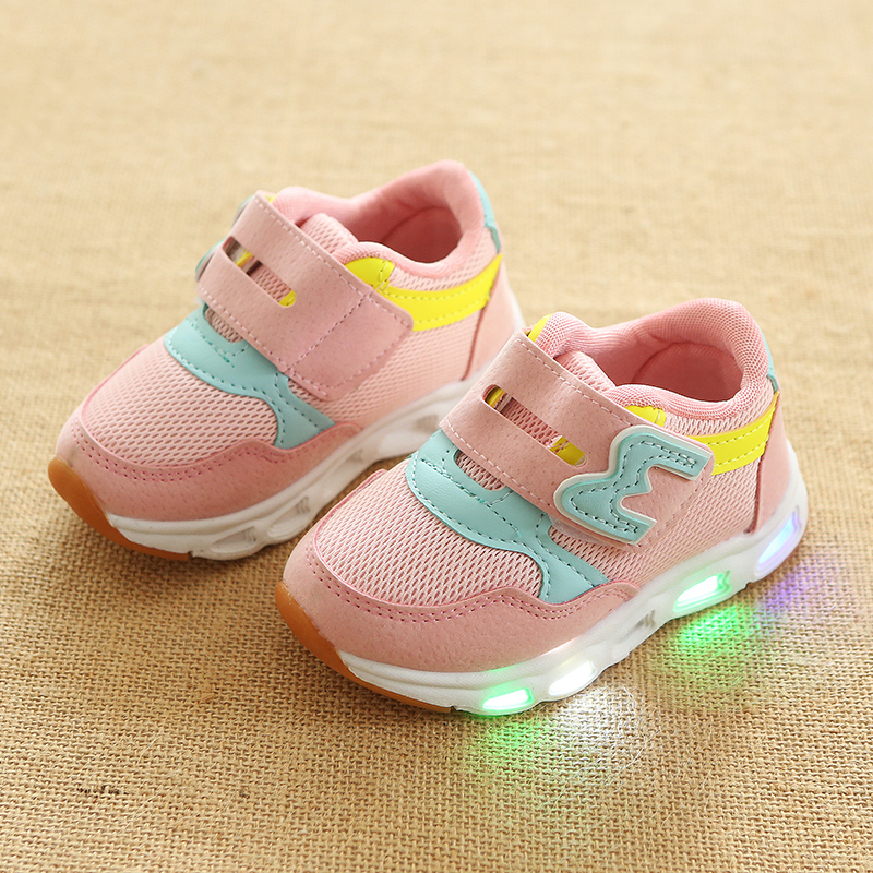 Luminous Shoes For Kids Girl Boys Sneakers Sport Style  Shoes Breathable Baby LED Light ShoesLuminous Shoes For Kids Girl Boys Sneakers Sport Style  Shoes Breathable Baby LED Light Shoes