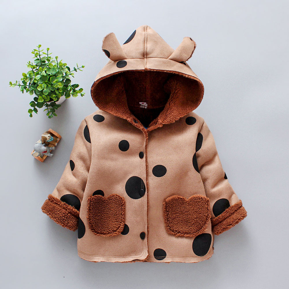 6b90ab86b400b Baby Girl Winter Clothes Fashion Ears Hooded Keep Warm Newborn Baby  Snowsuit Baby Girl Winter Coat Snow Clothes For Kids Boy ~ Perfect Sale  June 2019