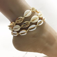 Bohemian style fashionable new natural shell foot ornaments summer hot - selling many types of beach ankle chain