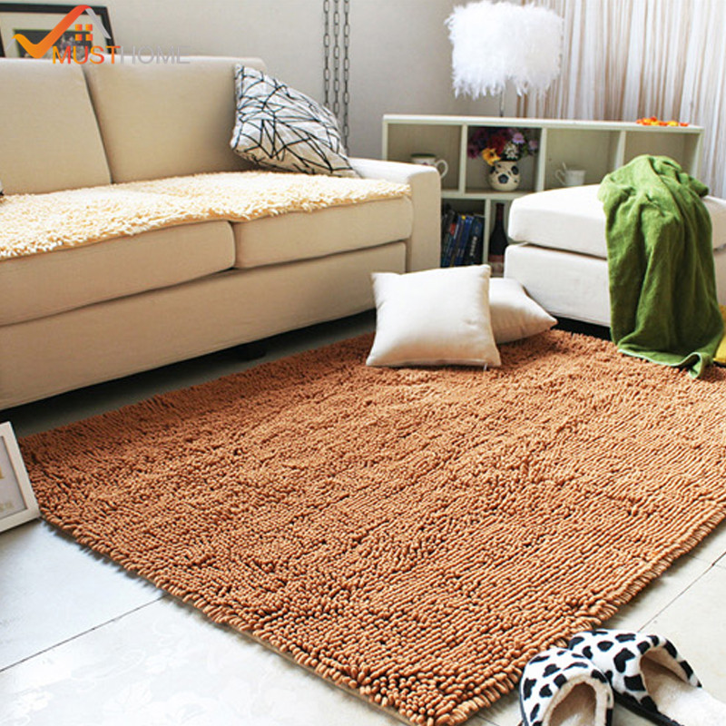 80x120cm 31x47 Chenille Microfiber Rugs And Carpets For Home Living Room Machine