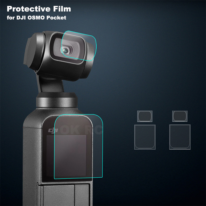 High Transparency Camera LCD Protective Cover//Lens Protector Film for DJI OSMO Pocket