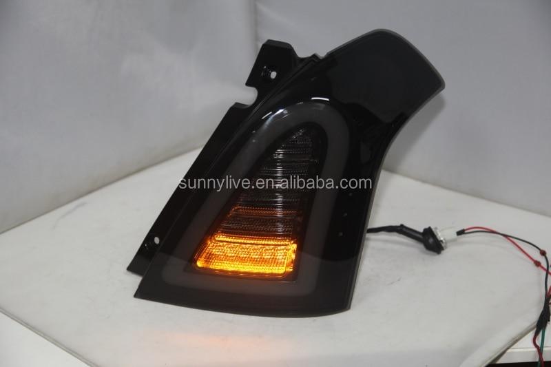 Для SUZUKI Swift светодиодный задний фонарь Дым 2006-2010