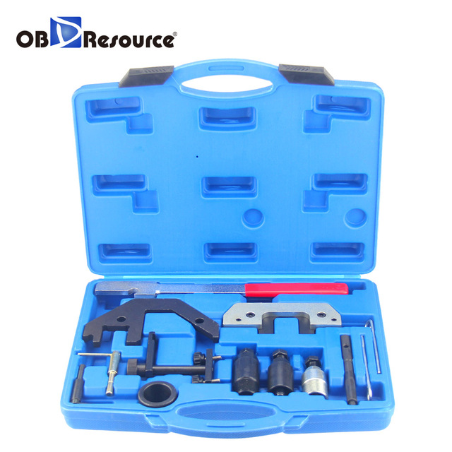 US $78 0 |OBDResource Universal Diesel Engines Timing Tool Kit For BMW M41  M51 M47 M57 TU T2 E34 to E93 13Pcs/Lot Garage Alignment Tool on