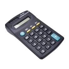 Черный 8 значный Настольный калькулятор общего назначения для офисной работы без Батарея