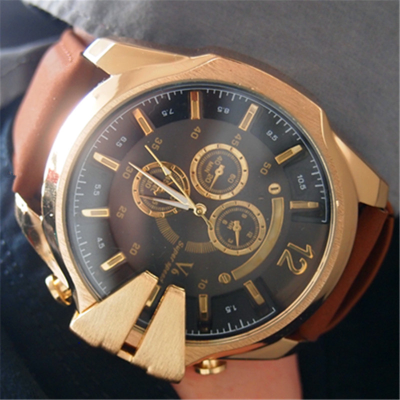 popular large gold watches buy cheap large gold watches
