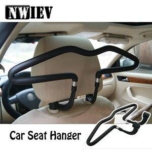 NWIEV Автомобильная вешалка для одежды подголовник из нержавеющей стали для Mazda CX-5 3 Mitsubishi ASX Lancer 10 Outlander Pajero Suzuki Grand Vitara