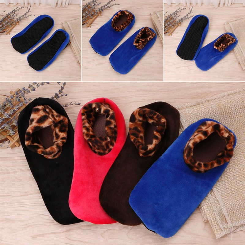 Women Thicken Winter Warm Boat Socks Non Slip Elastic Indoor Floor Socks Slipper F05