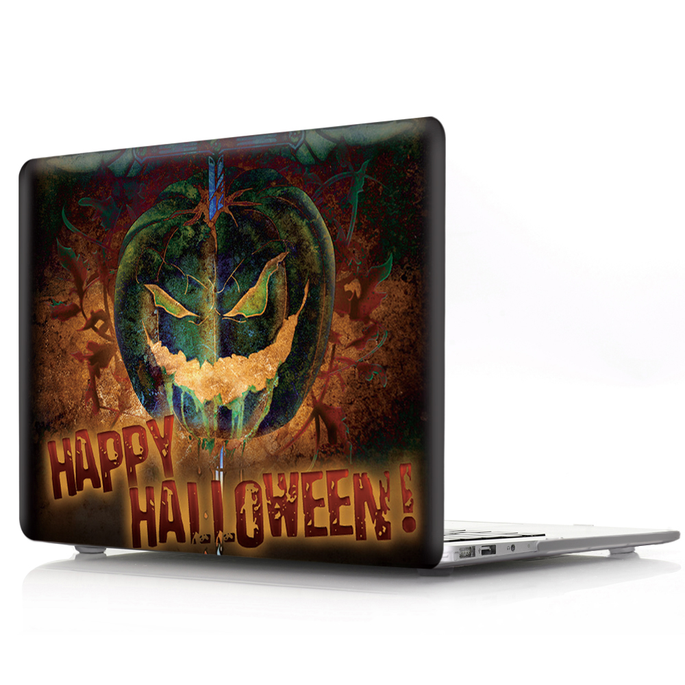 Halloween Horror Pattern Print Hard Sleeve Shell For Apple Macbook Air Pro Retina 11 12 13 15 Case Cover for Mac Pro 13.3 15.4