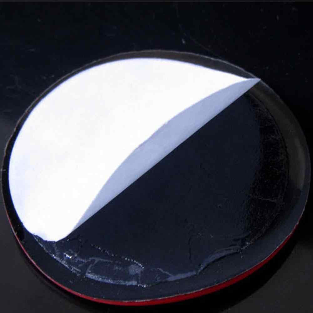 禁煙警告車のステッカーラウンドレッドサインビニールステッカー簡単にスティック用ガラスビジネスドアユニバーサルアクセサリー