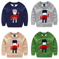 Baby sweater 2015 qiu dong outfit new robot boy children's wear children turtleneck sweater long-sleeved jacket my - 0772