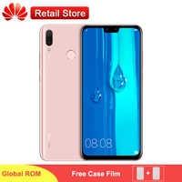 "Huawei Y9 2019 4G Smartphone 6.5"" Kirin 710 Octa Core Android 8.1 4 AI Camera Fingerprint 4GB 64GB 4000mAh Global Firmware Phone"