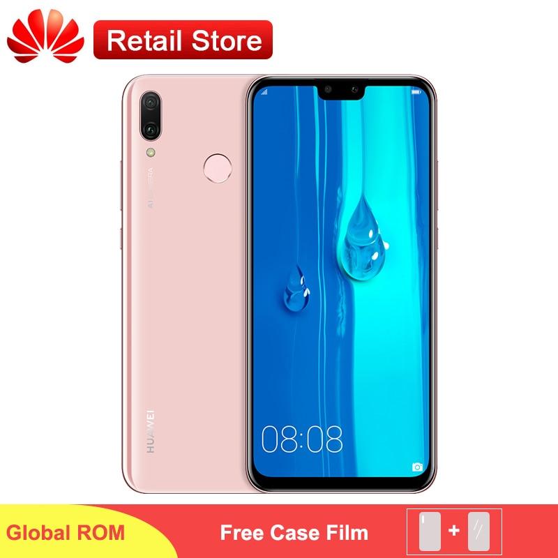 """Huawei Y9 2019 4G Smartphone 6.5 """"Kirin 710 Octa Core Android 8.1 4 kamera AI linii papilarnych 4GB 64GB 4000mAh globalne oprogramowanie telefonu w Telefony Komórkowe od Telefony komórkowe i telekomunikacja na AliExpress - 11.11_Double 11Singles' Day 1"""