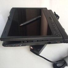 Используется Diagnsotic ноутбук X201T для obd2 автомобиля диагностический инструмент без HDD относится к MB STAR C3/C4/C5 OBD2 сканер