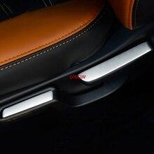In Acciaio Inox Seggiolino Auto regolare autoadesivo del tasto Per Honda HRV HR-V 2015 2016 2017 2018 Decorazione di Interni auto styling