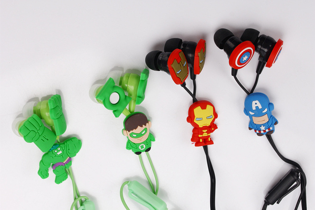 Superhero Earphones