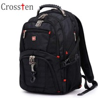 Free Shipping Original Swiss 15 6 Inch Laptop Bag Multifunctional Backpack 8112